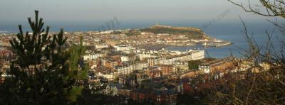 Scarborough from Oliver's mount