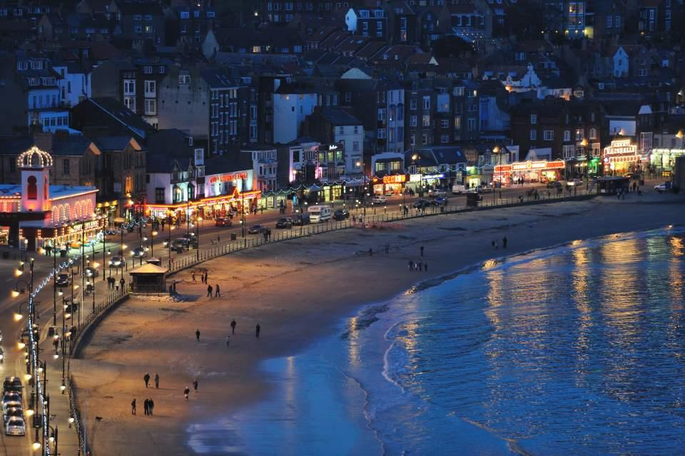 Scarborough at night Large Version