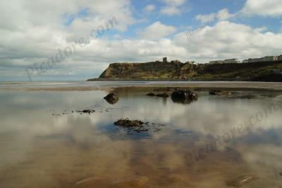 Scarborough Beach And Castle