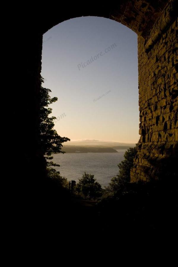 Through the Castle walls... Large Version